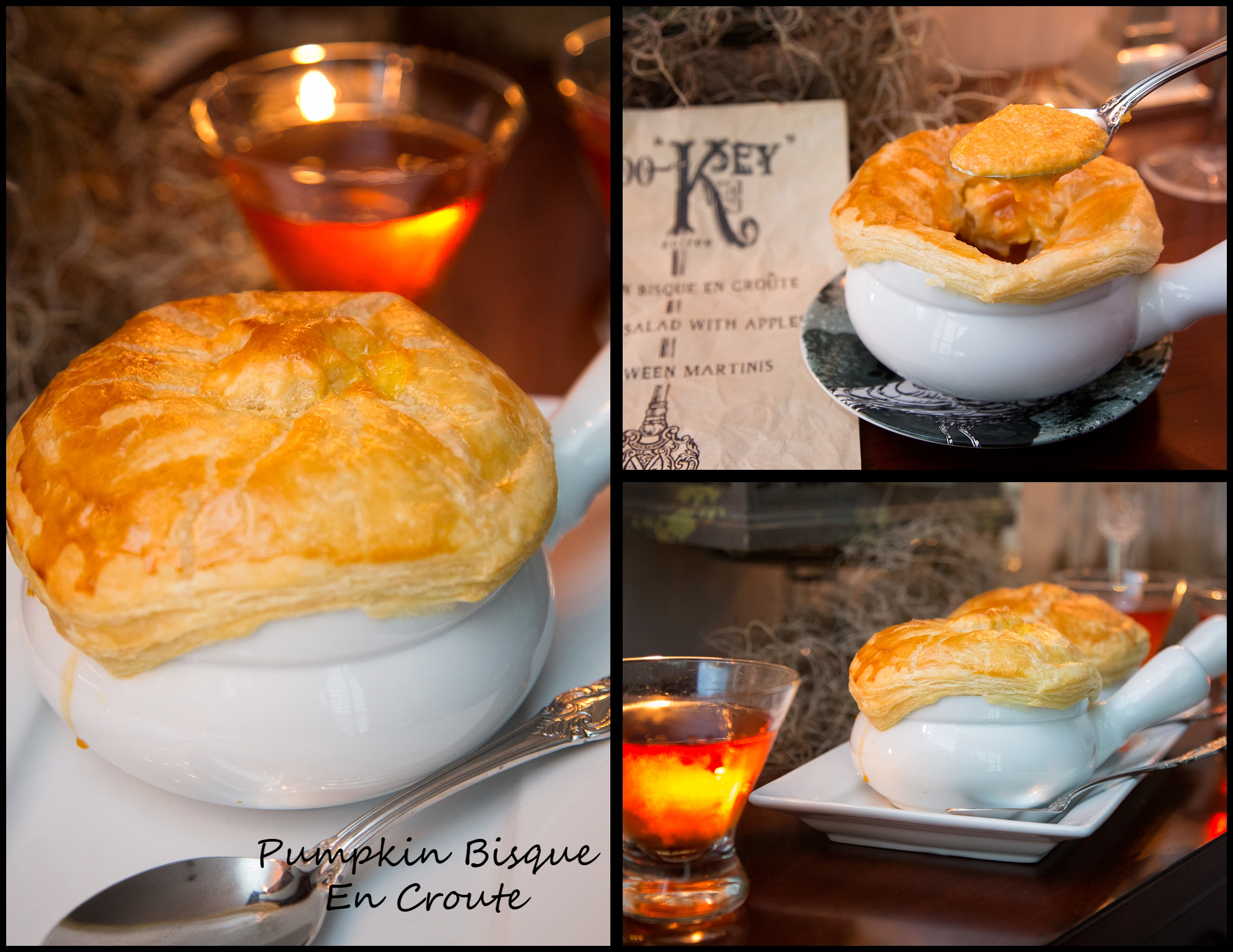 Pumpkin Bisque En Croute!
