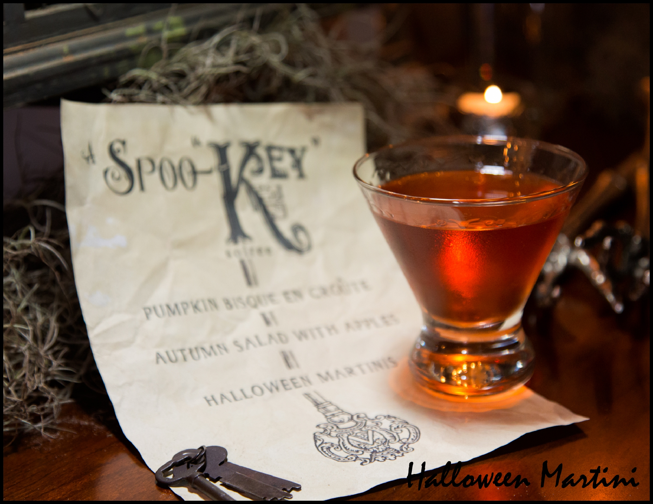 """Halloween Martini (from the cookbook """"Celebrate Everything!"""")"""