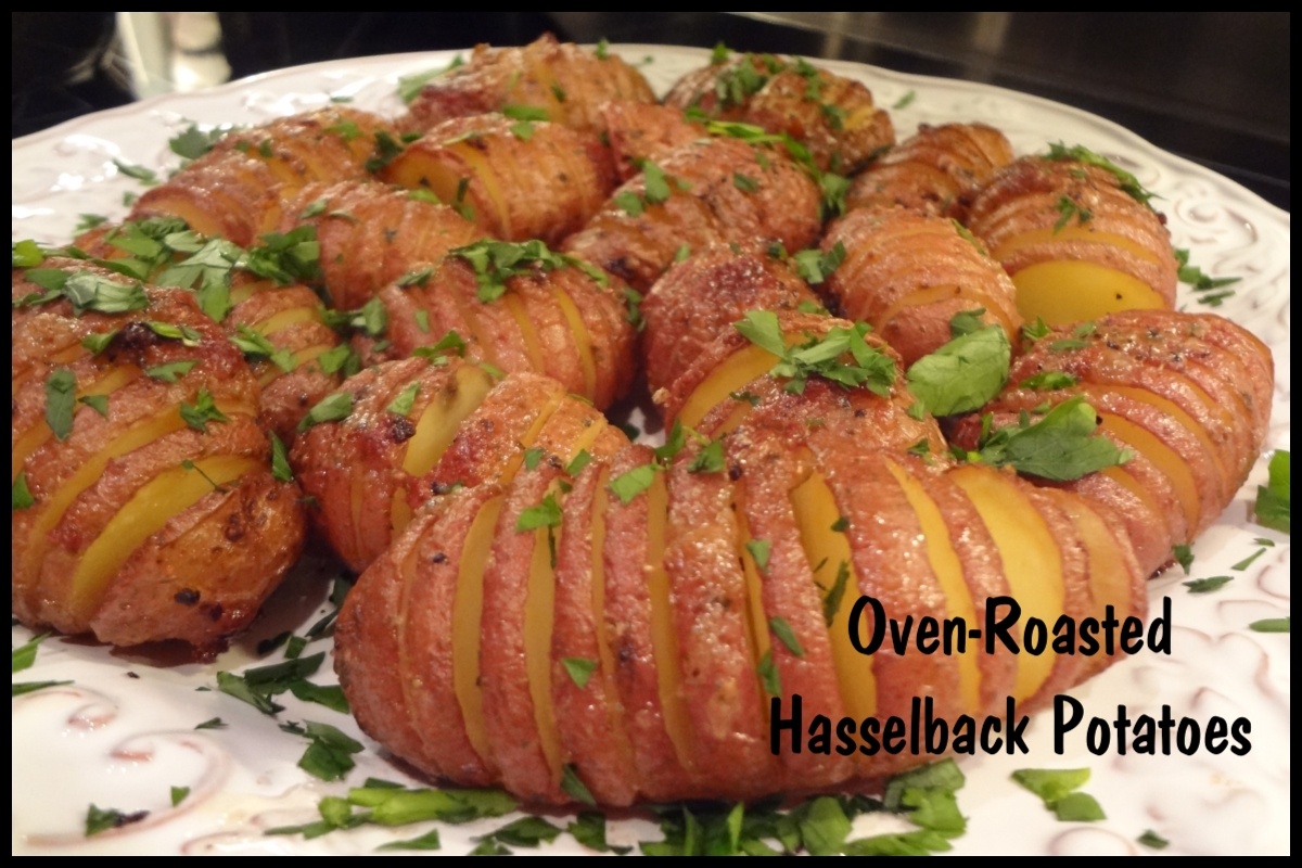 oven roasted hasselback potatoes fabulous leftover potatoes are great ...