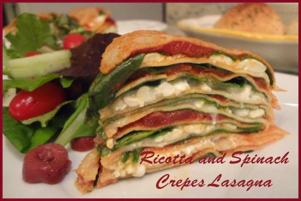 ricotta and spinach crepes lasagna purchase crepes from a local