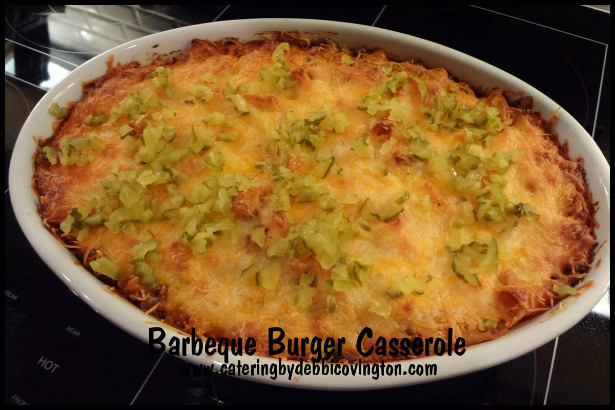 Barbeque Burger Casserole