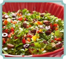Gourmet Chopped Salad (photography by Paul Nurnberg)