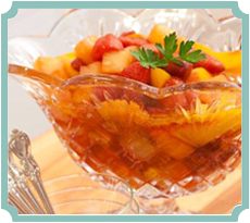 Baked Fruit Compote (photography by Paul Nurnberg)