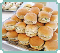 Tarragon Chicken Salad Sliders