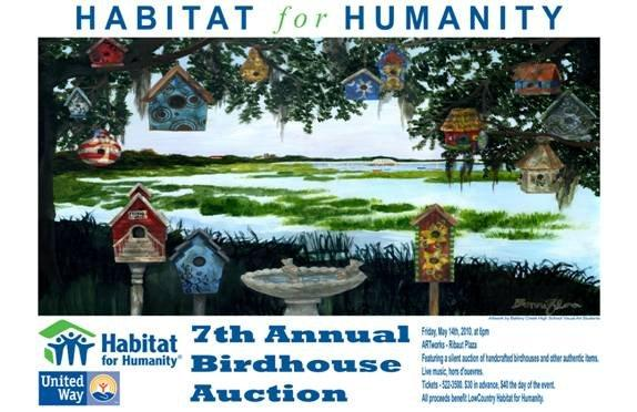 Habitat for Humanity Bird House Auction 2010