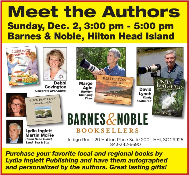 Celebrate Everything! Book Signing - Barnes and Noble, Hilton Head Island,SC