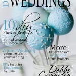 DIY Weddings Magazine Cover Winter 2012