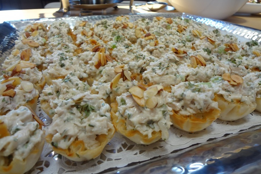 Catering By Debbi Covingtonchicken Salad Tartlets Catering By
