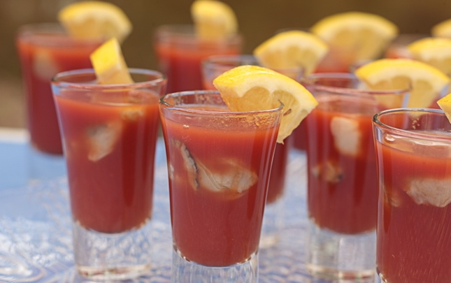 Oyster Shooters