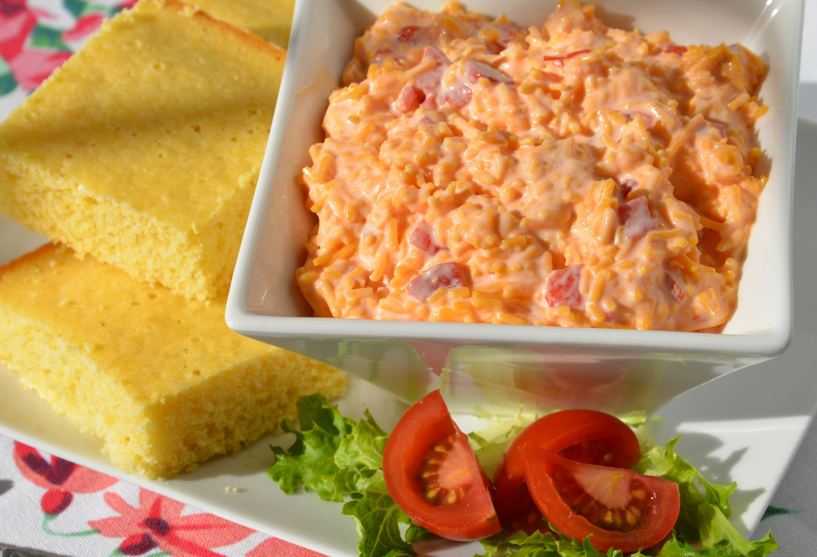 Pimento Cheese and Cornbread
