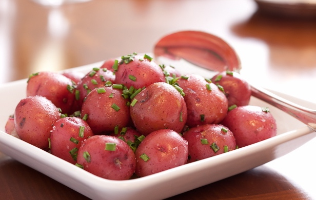 Buttery Baby Potatoes