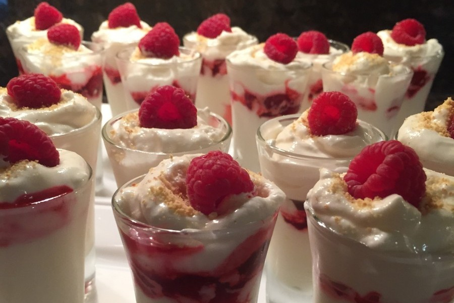 Lemon-Raspberry Parfaits
